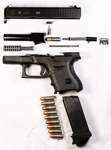 Glock, so simple so reliable..