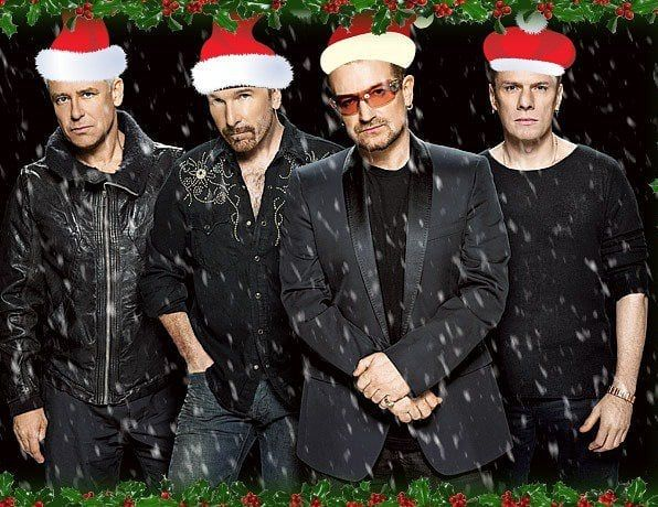 Happy Christmas Eve U2 U2newsit U2breathe Bono Theedge Adamclayton Larrymullenjr Rock Pop Music Happy Christmas Eve Larry Mullen Jr Happy Christmas