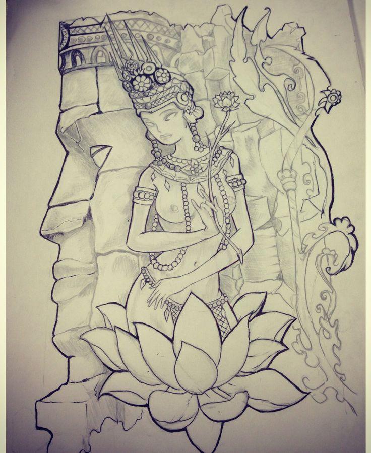 Khmer tattoo -
