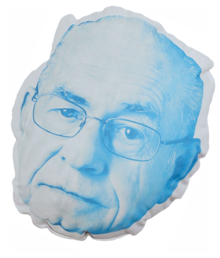 Cuddle with Carl Kassell pillow