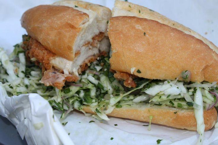 In Oakland: Bakesale Betty's Chicken Sandwich #Fast #Tasty #Hipsters