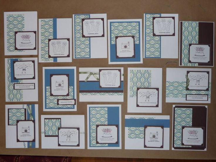 One Sheet Wonder Technique, Cards, Scrapbook Paper