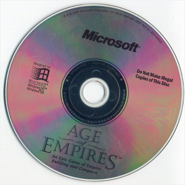 Microsoft Age of Empires - v. 1.0 Real Time Strategy game Windows PC CD B00004TOMI on eBid United Kingdom