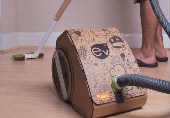 Cardboard Vacuum Cleaner?? How cool... Wonder if it really works?
