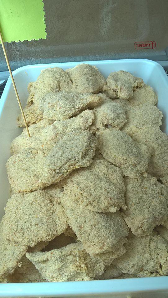 Alitas rebozadas de pollo...