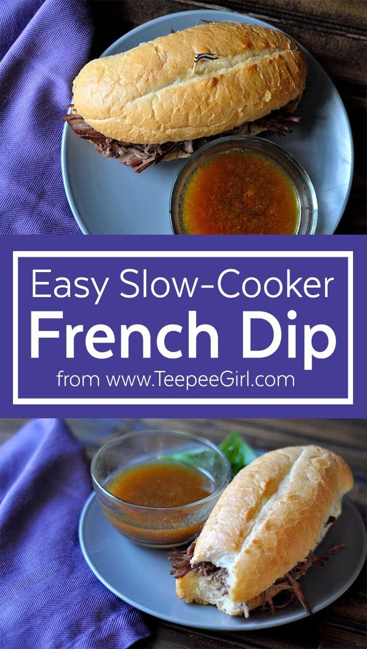 Easy Slow Cooker French Dip Recipe — Dishmaps