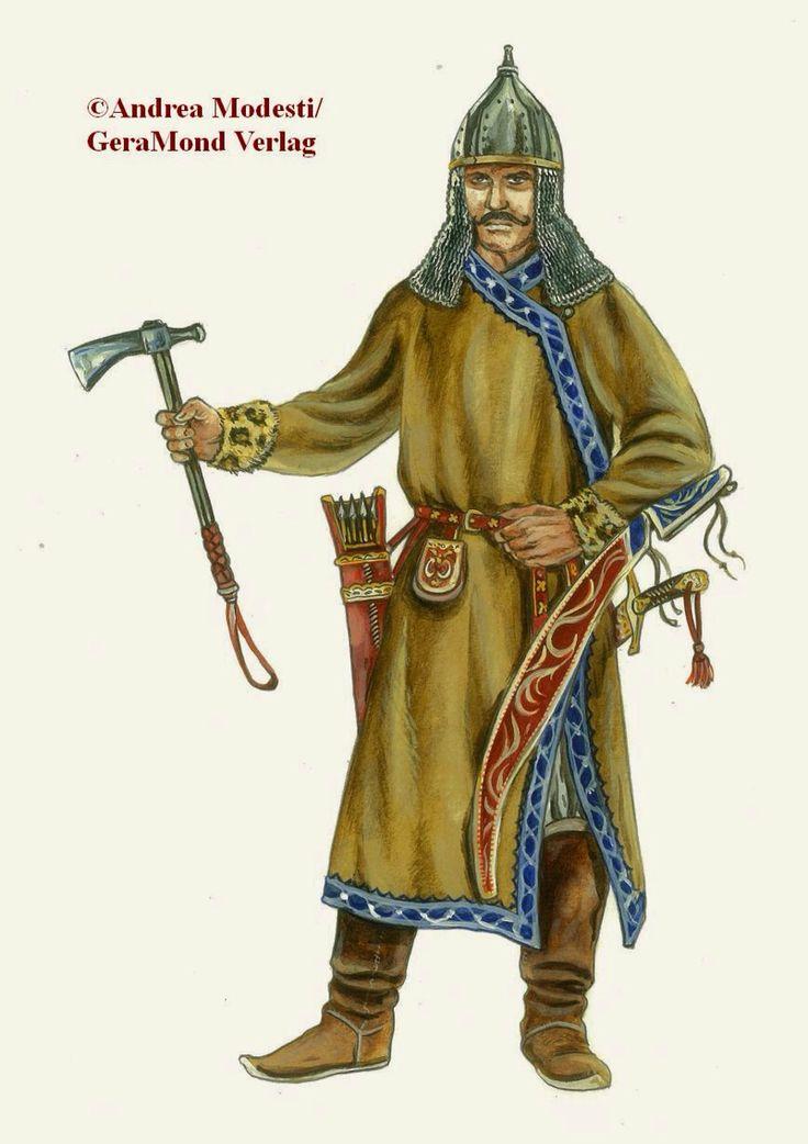Ancient Hungarian Warrior