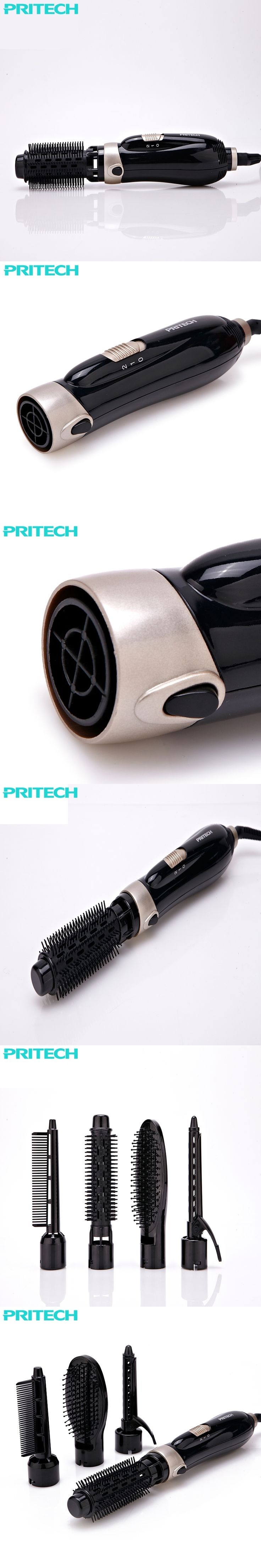 Pritech 4 in 1 Women Styling Tools Set Hair Diffuser For Professional Salon Hair Dryers  Curler Straightener combs #HS-729