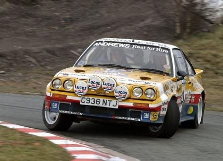 Opel Manta 400 - Russel Brookes maybe.