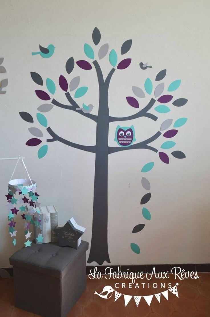 Les 25 meilleures id es de la cat gorie chambres gris violet sur pinterest chambres gris - Chambre mauve et turquoise ...