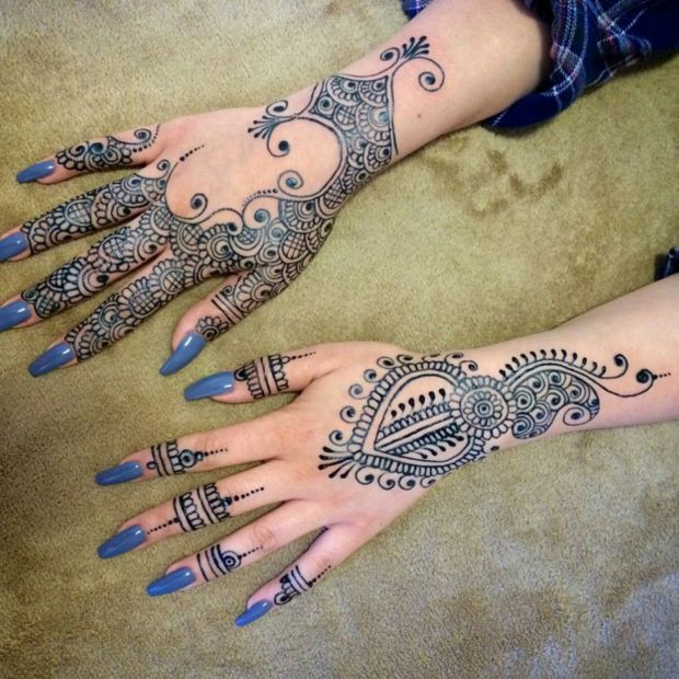 Blue Henna Tattoo: 25 Best Images About Jagua On Pinterest