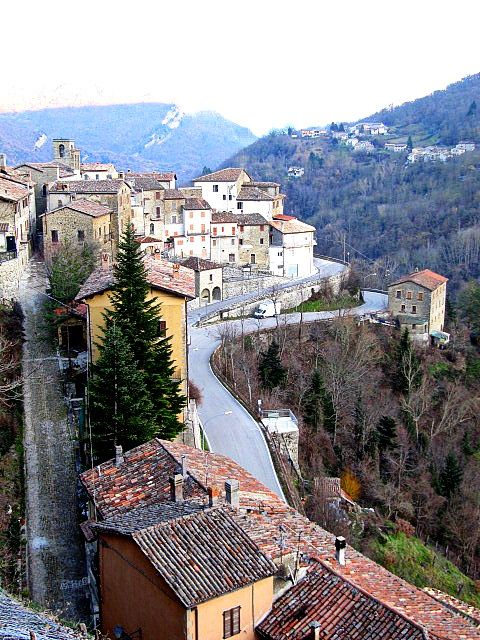 Natalie Justine : Winter Chilling in Italia