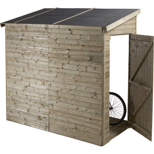1000 id es sur le th me abri jardin sur pinterest abri - Construire un cache poubelle ...
