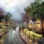 This reminds me of my Grandma's neighborhood, I love it!