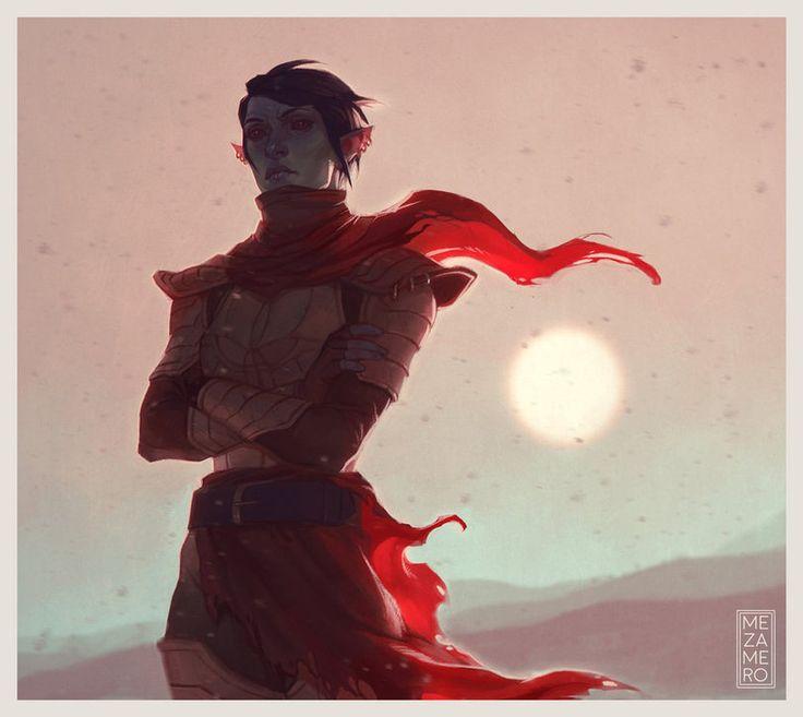 TES art,The Elder Scrolls,фэндомы,Нереварин,TES Персонажи,Неревар,Mezamero,Morrowind