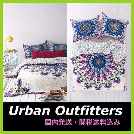 Urban Outfitters ベッドカバー・リネン Urban Outfitters★メダリオンシングル布団カバー 関税送料込