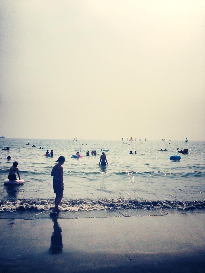 Zushi beach 逗子