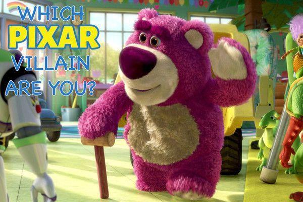 Which Pixar Villain Are You? - So cute! So dangerous! - Quiz