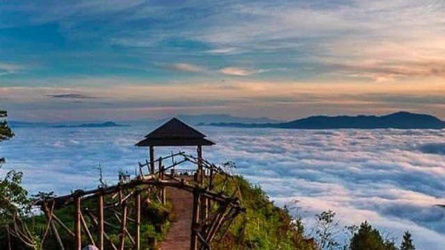 31 Foto Pemandangan Toraja Melihat Matahari Terbit Dari Negeri Di Atas Awan Pango Pango Download Patung Yesus Tertinggi D Di 2020 Luar Ruangan Pemandangan Gazebo