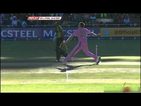 Video: Shahid Afridi fights fire with fire; gives epic reply to Ryan McLaren | News & Gossip on Cricket Players at Criclife.com