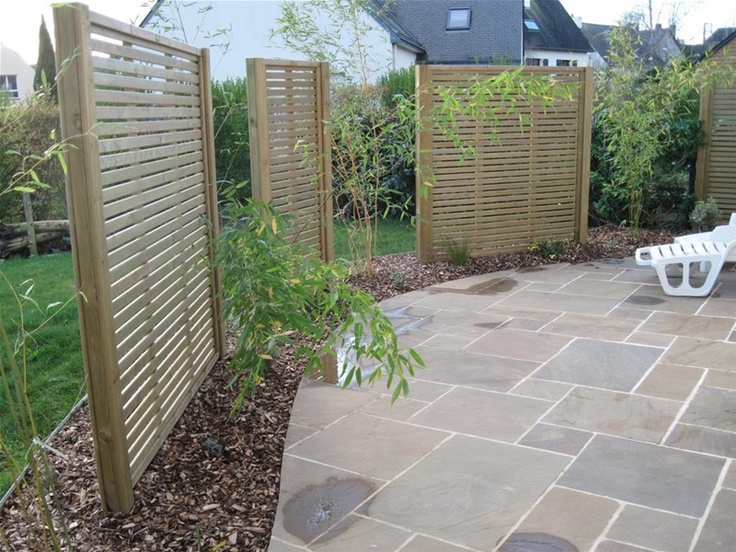 screens privacy garden bamboo classic screening fence wood