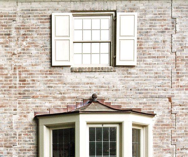 55 best limewashed brick images on pinterest limewashed - Lime wash paint exterior design ...