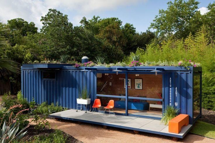 Casa-Container para invitados / Poteet Architects