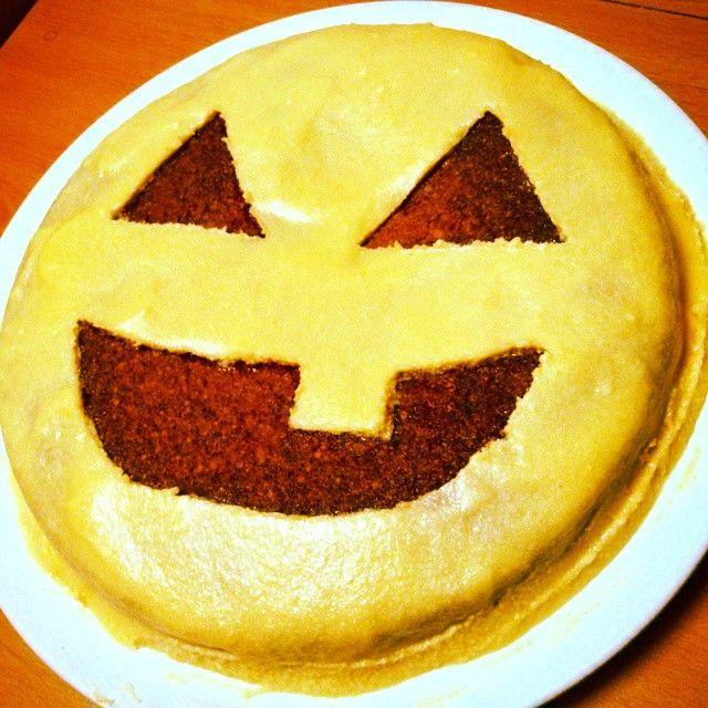 #Halloween #carrot #cake #foodporn #sweet - #tarta #laminera #zanahoria #healthy #fun #cooking