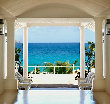 Paradise on earth.  Hotel Isle de France, St. Barths