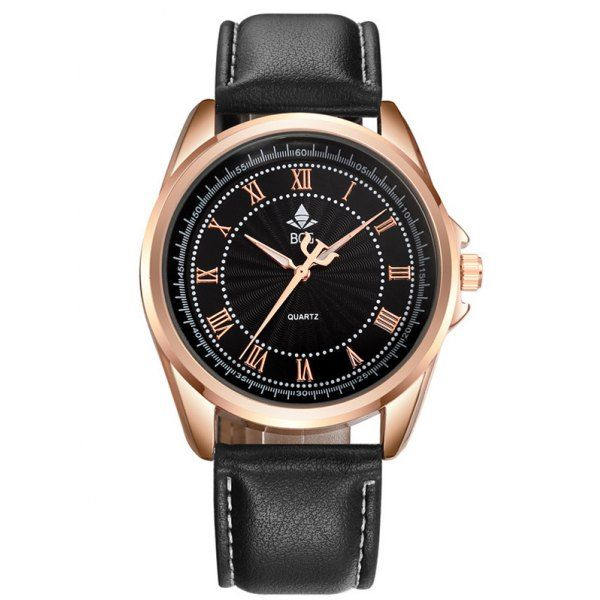 Faux Leather Roman Numerals Waterproof Watch #>=#>=#>=#>=#> Click on the pin to check out discount price, color, size, shipping, etc. Save and like it!