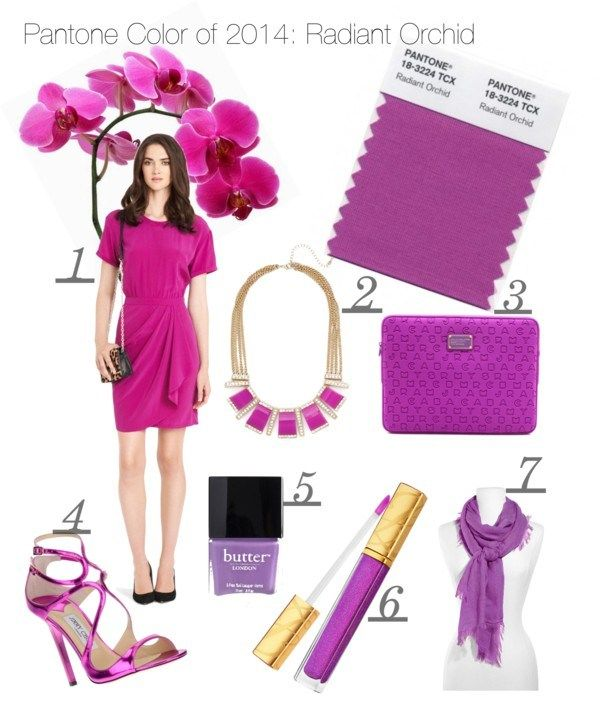 Wear This Now: Pantone Color of 2014 Radiant Orchid | Clothes I love ...