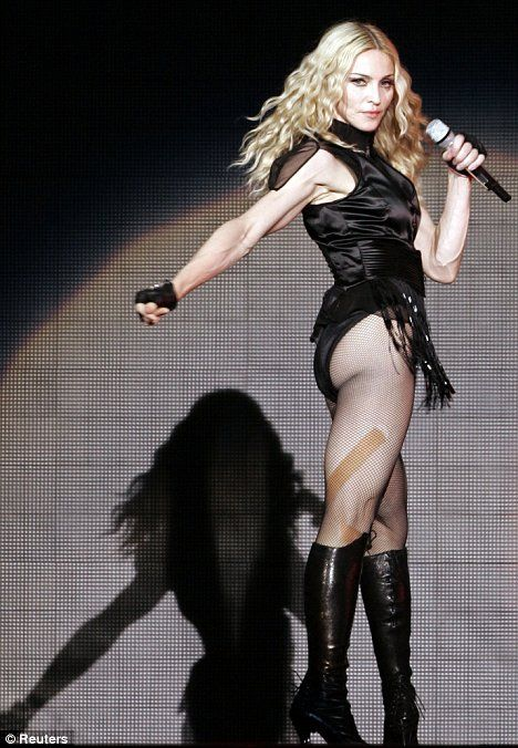 Madonna at 50 -- me before 50!!  Ask, believe, live it!