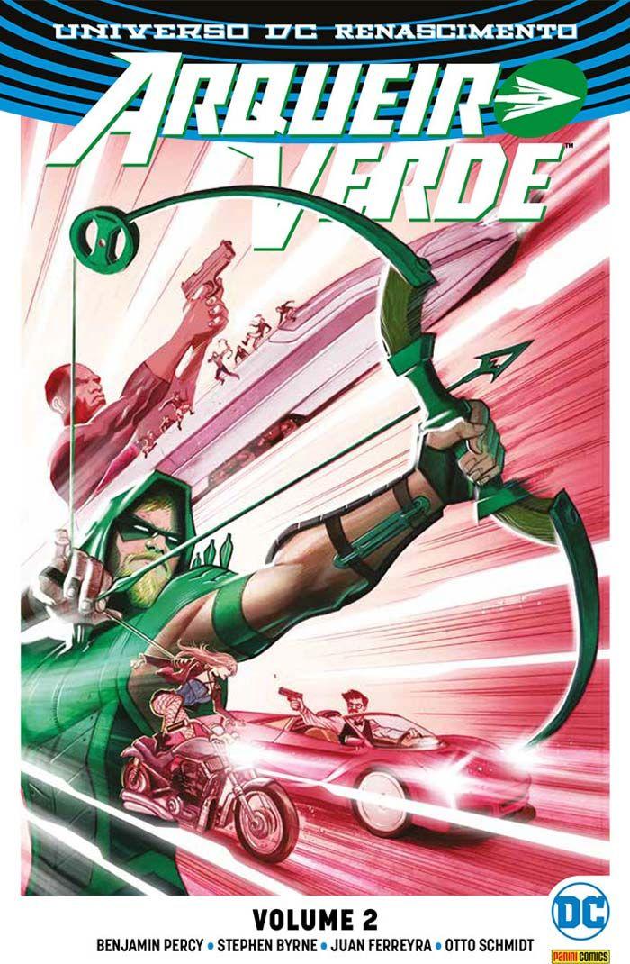 Universo DC Renascimento: Arqueiro Verde - Volume 2 (Panini Comics)