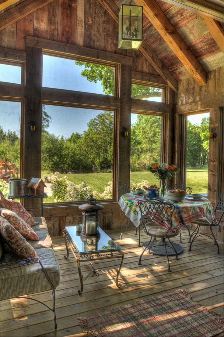 A Wooden Wonder: Fantastic Farmhouse in Minneapolis is natural and rustic in style