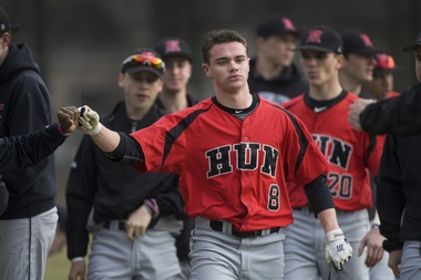 Hun School baseball holds off Lawrenceville