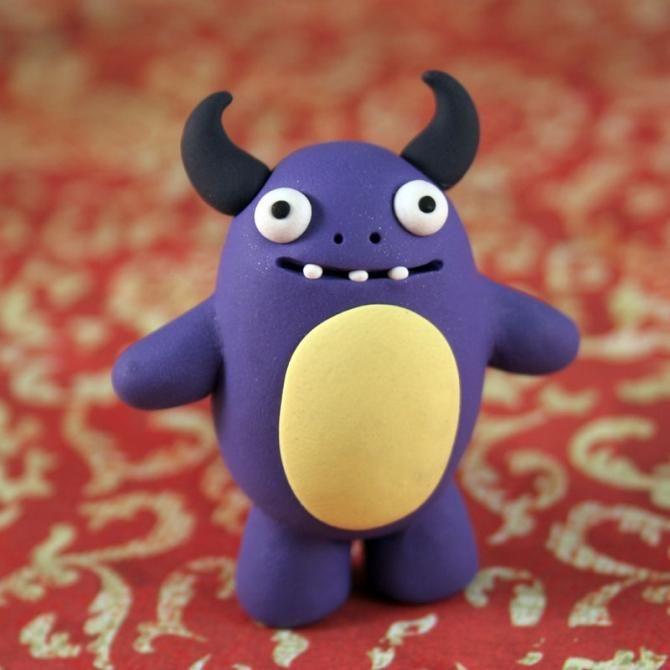 Monstruos de Plastilina   cute  animales  talento