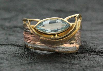 Marne Ryan aquamarine ring