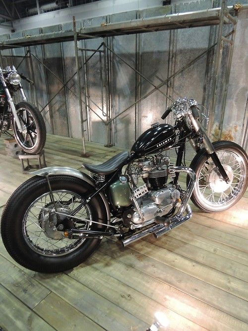 Triumph at the joints custom bike show 2014 | Bobber Inspiration - Bobbers and Custom Motorcycles | taku420 August 2014