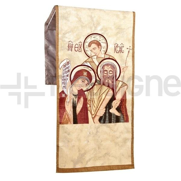Paño Sagrada Família para atril.