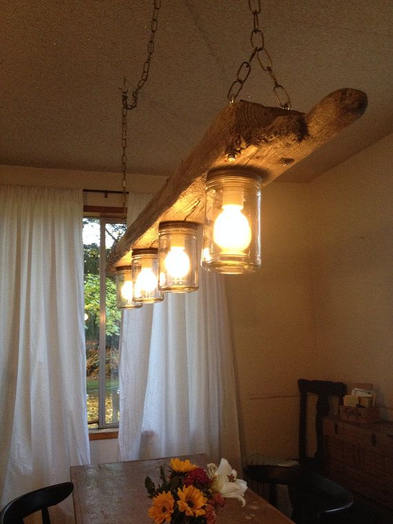 Driftwood Jar Pendant Light By FRANSARSTUDIO On Etsy 41000