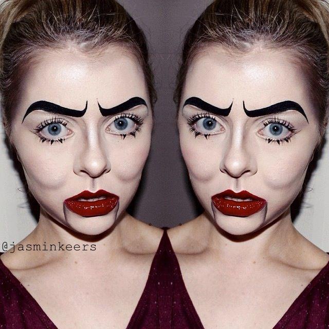 Makeup  Makeup Ideas  Halloween Makeup Dolls Dummies  VentriloquistVentriloquist Dummies Makeup