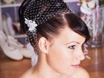 vintage Haarnetz für die Braut