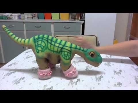 Pleo RB Trick Learning Stone Demonstration - YouTube