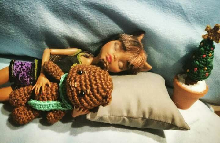 Amigurumi crochet Little bear by Desayuno con Ganchillos