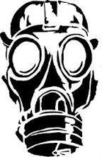 Bildergebnis für graffiti schablone gasmaske