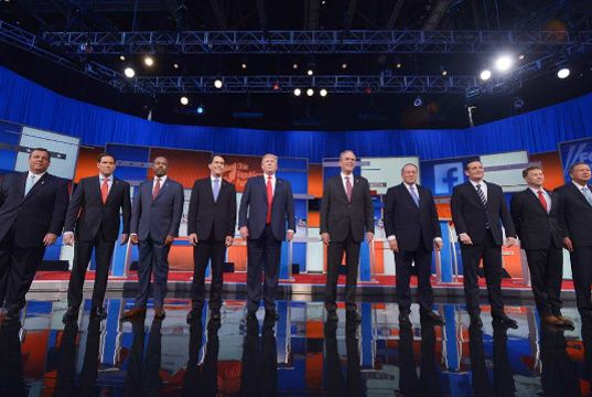 First Republican Debate's Viral Statuses, Photos and Videos