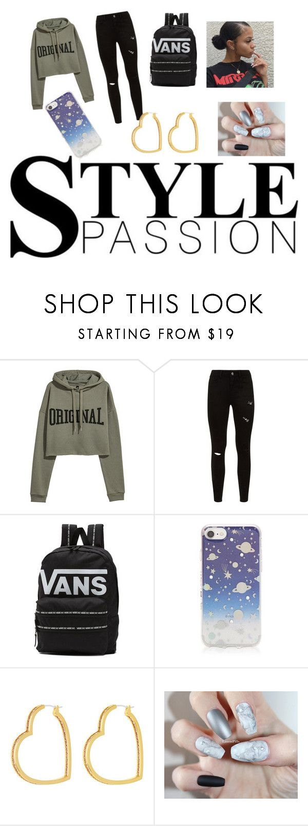 """""""Our Black Universe"""" by brightlightblue on Polyvore featuring Vans and Henri Bendel"""