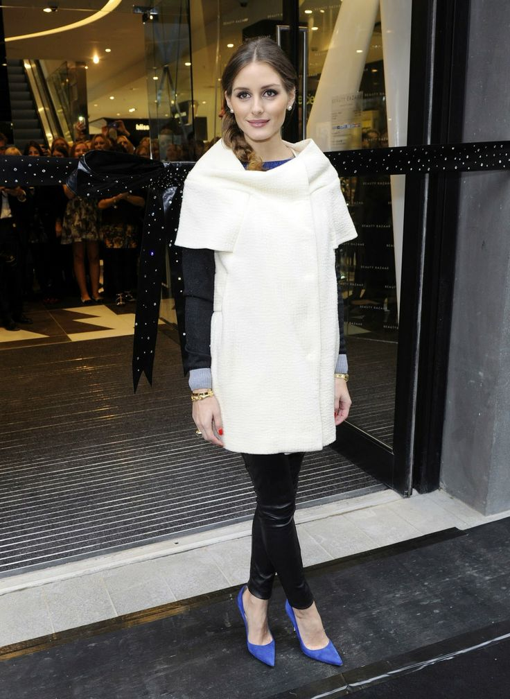 THE OLIVIA PALERMO LOOKBOOK: Olivia Palermo at the opening of Harvey Nichols Beauty Bazaar in Liverpool .