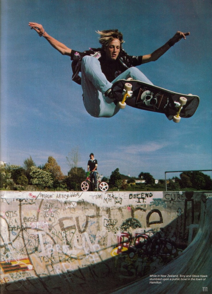 Tony Hawk back in the day