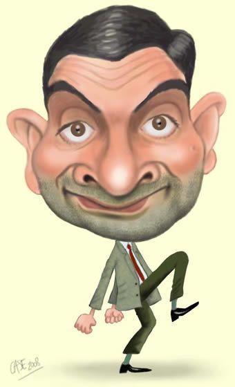 Karikatuur: een manier van tekenen waarop mensen onrealistich op een cartoonachtige manier worden getekend